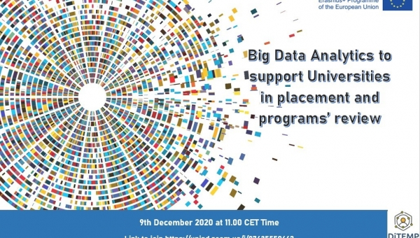 Big Data Analytics to support Universities in placement and programs' review | University of Padova Online Webinar 9/12, 11:00 (CET)